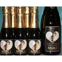 Botellas Personalizadas De Champan Souvenirs