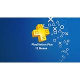 Ps Plus 12 Meses Ps4 Playstation Plus Activalo Una Única Vez