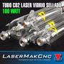 Tubo Laser Co2 100w Pantografos Máquinas Corte Y Grabado