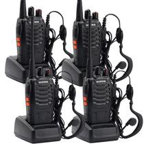 Kit X 4 Handy Baofeng Radio Walkie Talkie Bf888s 16ch Uhf