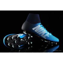 c4e72d4d7 Botines Botitas Nike Mercurial Victory Vi Df Fg Pasto Azul en venta ...