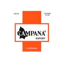 Encordado Guitarra Criolla Clasica Campana Cex20 Plateadas