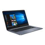 Notebook Asus Vivobook E406 Intel N4000 64gb 4gb 14 Win10