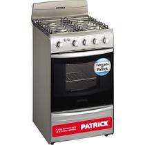 Cocina Patrick Multigas Cpf8151mvs 51cm Horno Con Luz