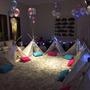 Alquiler Kit Pijama Party Carpas Tipi Indio Cumpleaños
