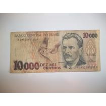 Billete 10.000 Cruzeiros Serie A