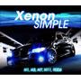 Kit De Xenon 30000k Azul Extremo! Espejada H1 H3 H7 H11 9006