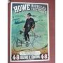 Afiche Publicitario Retro Vintage - Howe Tricycles