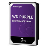 Disco Duro Interno Western Digital Wd Purple Wd20purz 2tb Púrpura