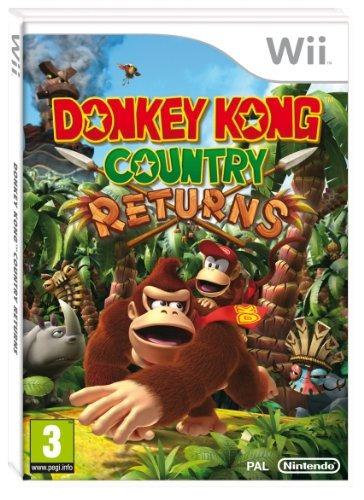 Nintendo Donkey Kong País Devoluciones (nintendo Wii)