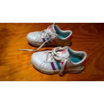 Zapatillas De Nena Nro 31 Adidas Neo...muy Buen Estado Gral.