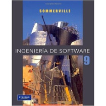 Ingenieria De Software 9ª Ed Sommerville Pearson Nuevo