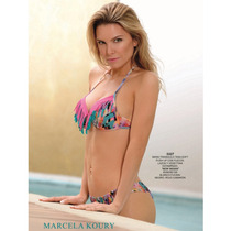 ***bikinis Marcela Koury*** Triangulo Con Flecos. Nuevas!