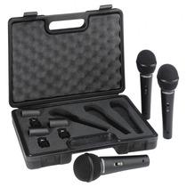 Set 3 Microfonos Behringer Xm1800 + Valija Pipeta Y 3 Cables
