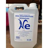 Agua Desmineralizada/destilada X 5 Lts