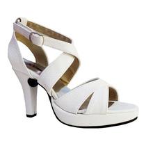 Sandalias Zapatos Plataforma Busca Fiesta Mejores Blanca Con Los W2be9IYHED