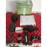 Xbox 360 Flasheada Con Kinect, Joystick Y Juegos