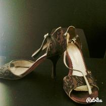 Zapatos De Tango Fiesta Sandalias Entrego En Capital-rosario