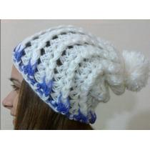 Gorros De Lana Tejidos Al Crochet-largos