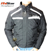 Campera Para Motociclista Proskin Outdoors Negra Talle L
