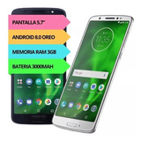 Celular Motorola Moto G6 Xt-1925 32gb 3gb Huella Full Envios