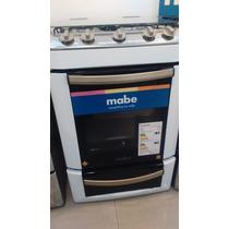 Cocina Mabe Cmj256bvs Con Valvula En Hornallas Y Horno