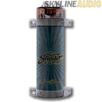 Capacitor Stinger Spc111  1 Faradio Con Voltímetro Digital