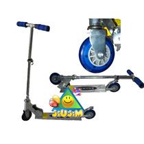 Monopatin Aluminio 2 Alturas Reforzados Alta Calidad! Jiujim