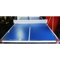 Tapa De Ping Pong P/ Pool De 1.40 X 0.80 Melamina 18mm C/red