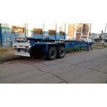 Alquiler Semi Usado Prati - Fruehauf Containero 3 Ejes