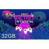 Consola Retro Station 32gb Con 2 Joysticks Usb - 6 Cuotas