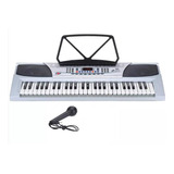 Teclado Organo Musical Piano Lcd Electrico Modelo Nuevo Y En Cuotas Sin Interes