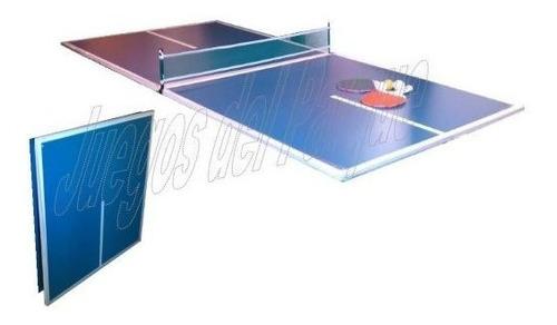 25%off Tapa Ping Pong Pleg P/ Tejo/metegol+set Cuotas S/ Int