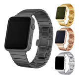 Malla Metalica Acero Apple Iwatch 38 40 42 44mm Serie  2 3 4