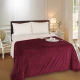 Frazada Flannel Con Corderito 2 1/2 Pzas Luxury Soft