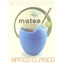 Mate De Silicona Mateo Clasico. Todos Los Colores.