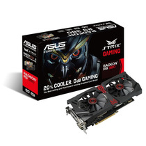 Placa De Video Asus Pcie R9 380 Strix Dc20c 2g Ddr5 Gaming