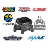 Consola Retro Arcade 2 Joystick Recalbox 32gb Tv Box Netflix