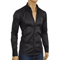 Camisa Original Emporio Armani -made In Italy-liquidacion