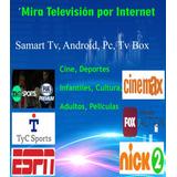 Iptv  Canales De Tv Samrtv. 2 Conecciones Mejor Del Mercado