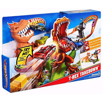 Pista Hot Wheels Duelo De T-rex Takedown - Original Mattel