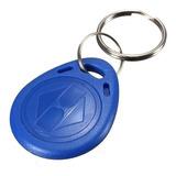 Llavero Plástico Rfid 1k - 13.56 Mhz Por Unidad Idshop® Azul