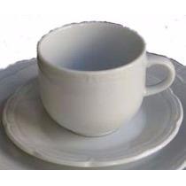 12 Tazas De Te Con Plato Porcelana Tsuji Linea 1800