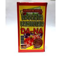 Loteria Familiar X 96 Cartones + Bolilla De Madera En Caja