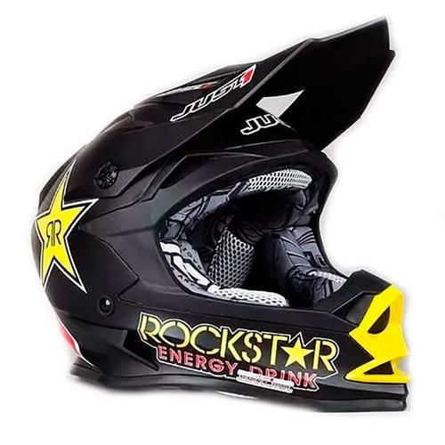 a67c6f097fd17 Casco Motocross Enduro Atv Just 1 J32 Rockstar - Sti Motos