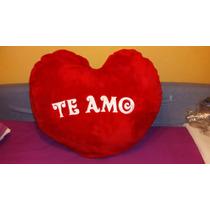 Peluche Corazón - Te Amo - 70cm X 50cm - Impecable