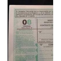 Formularios 08 - 08moto - 02 - 03 - 04 - 11 - 12 - Autorizac