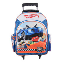 Mochila Con Carro Hot Wheels Con Licencia Original 18