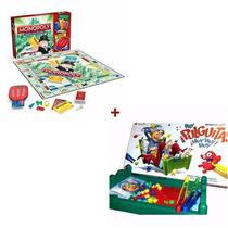 Juego Hay Pulguitas Top Toys Y Monopoly Banco Electronico