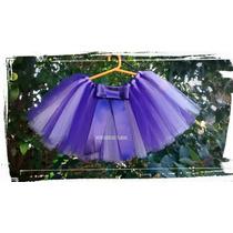 Tutu - Disfraz Para Princesas- Talle 2 Al 6 - Hermosos -tul